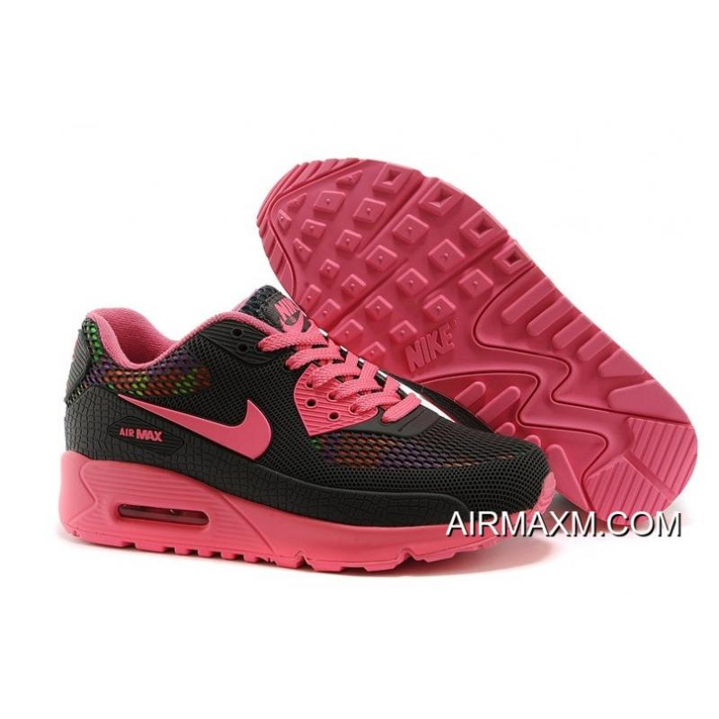 the latest dba4f 6a624 Women Nike Air MAX 90 Disu 2nd Generation GS Pink Black New Year Deals