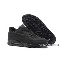 Big Deals Nike Air Max 90 Woven All Black