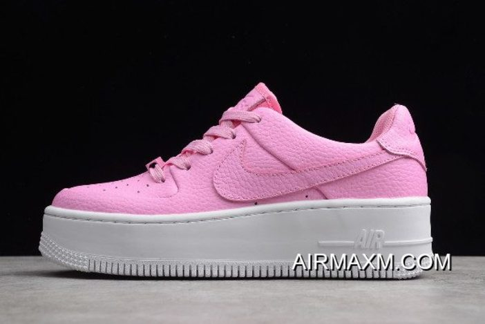 oben Nike Air Force 1 Low GS Sage Psychic Pink AR5339 601
