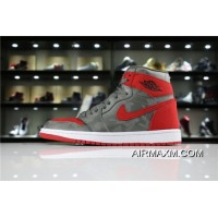 "Air Jordan 1 High Premium ""Camo"" River Rock/Black Men's Size AA3993-032 New Year Deals"