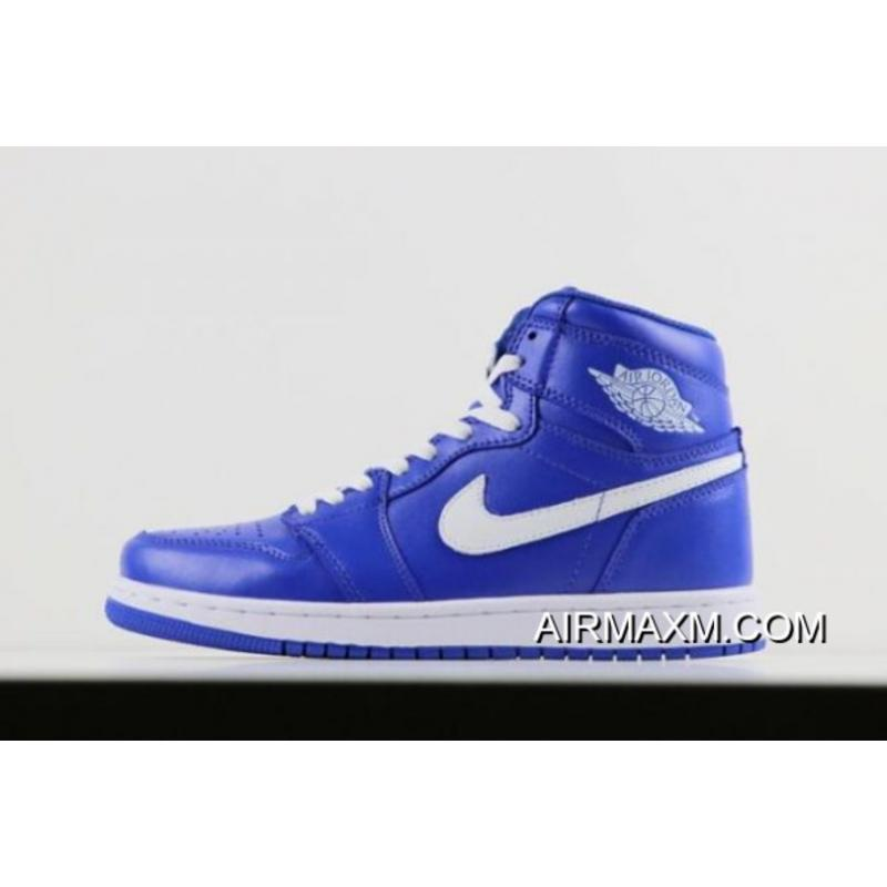 "watch afb77 57857 Free Shipping New Air Jordan 1 Retro High OG ""He Got Game"" Hyper Royal ..."