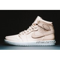 "Air Jordan 1 Pinnacle ""Vachetta Tan"" 705075-201 Tax Free"