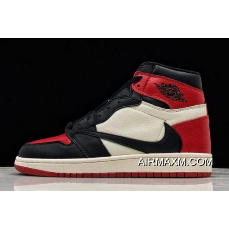 "Buy Now Travis Scott X Air Jordan 1 High OG ""Bred Toe"" 575441-610 ... ceedfa788"