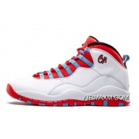 "Air Jordan 10 Retro ""Chicago"" City Pack 310805-114 New Year Deals"