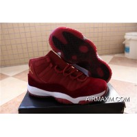 Authentic Men Basketball Shoe Air Jordan 11 Velvet Heiress SKU:124359-352