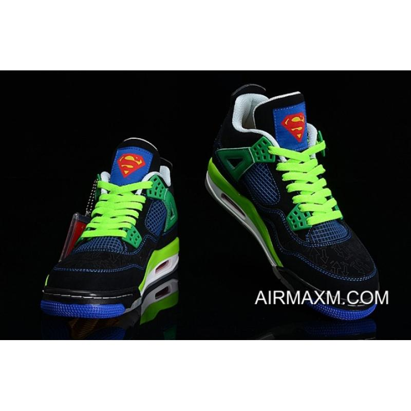 "new arrival 04618 90240 ... Online New Air Jordan 4 Retro ""Doernbecher"" Black Old Royal-Electric  Green ..."