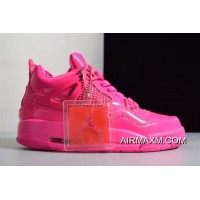Where To Buy Women's Air Jordan 4 Retro GS 11Lab4 Pink Patent Leather