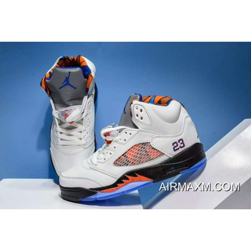 "separation shoes b76e8 31cc2 ... Online New Air Jordan 5 ""International Flight"" Sail Orange Peel-Black-"