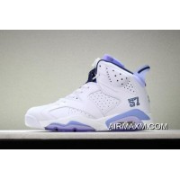 "Air Jordan 6 ""UNC Championship"" PE White/University Blue 384664-110 Buy Now"