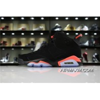 "Mens And Womens Air Jordan 6 Retro ""Black/Infrared 23"" For Sale"