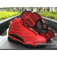Tax Free Men Air Jordan 13 Gym Red