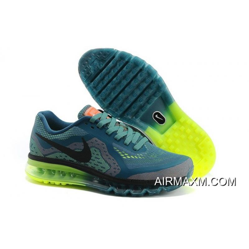 best sneakers 1c2ed cac23 Air Max 2014 Blue Yellow Black Green Top Deals ...