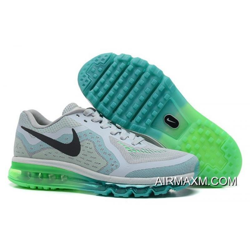 c311ae74 Air Max 2014 Grey Black Green Top Deals, Price: $70.89 - Nike air ...