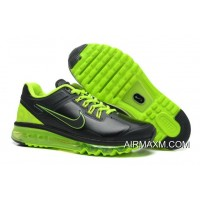 Authentic Air Max 2014 Leather Black Green