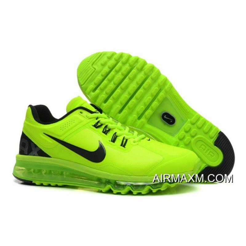 wholesale dealer 06fc3 c4dc7 Air Max 2014 Leather Green Black New Release ...