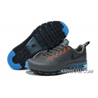 New Release Air Max Motion 2014 Grey Orange Black Blue