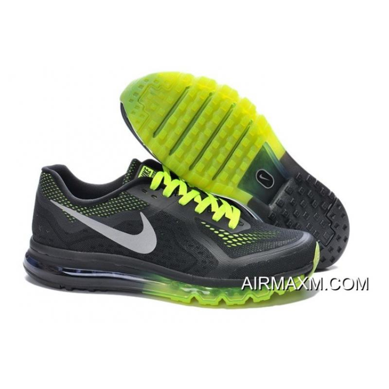 check out fb5e4 69511 Nike Air Max 2014 Green Black Grey Men Latest ...