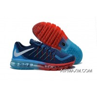 Air Max 2015 Flyknit Blue Red Grey Black Top Deals