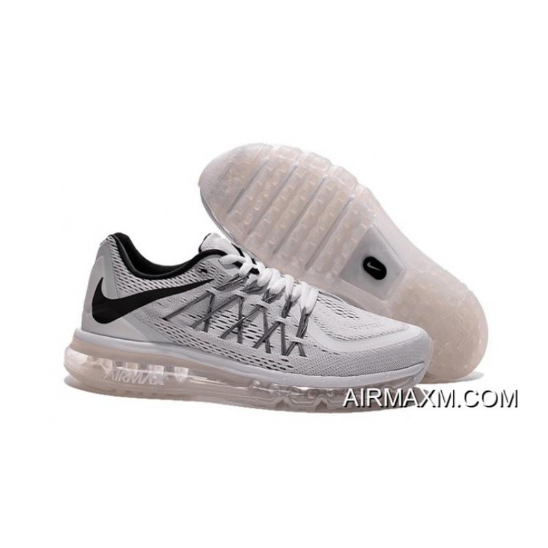 huge selection of aac99 0d81c Air Max 2015 Shoes All Grey Black Where To Buy ...