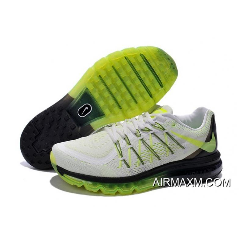 best website 4684f f81dc coupon code for nike shoes air max 2015 8abff 8c9bb  best price new style  air max 2015 white green black 4b41b 0180e