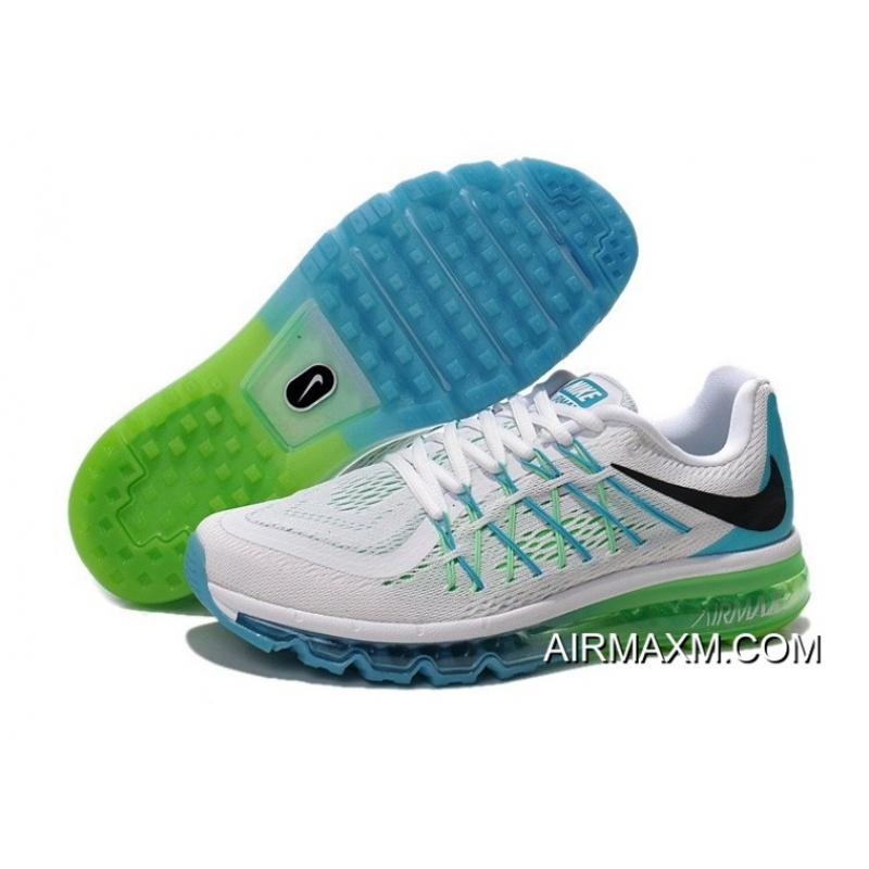 Air Max 2015 White Green Black Blue Where To Buy