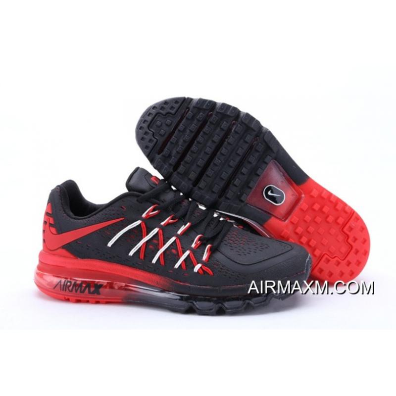 reputable site e8317 a92c0 ... discount code for sweden super deals nike air max 2015 men black red  running shoes e9aed