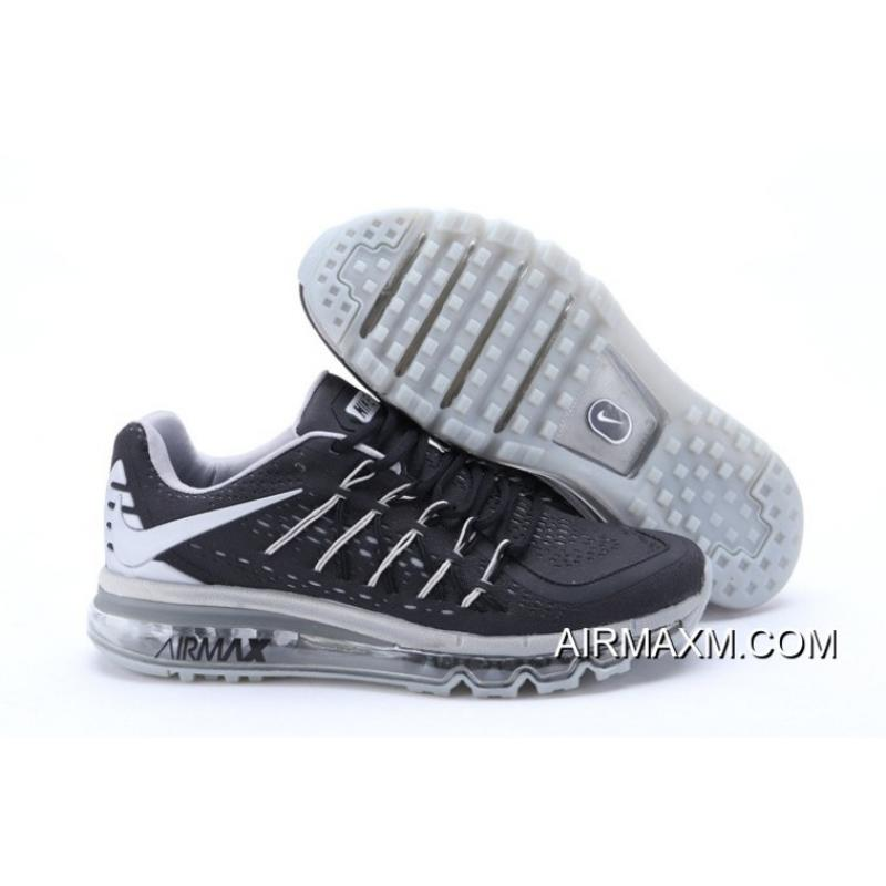 3cbcaad4d ... where to buy nike air max 2015 men black silver running shoes online  f7f49 fdec6