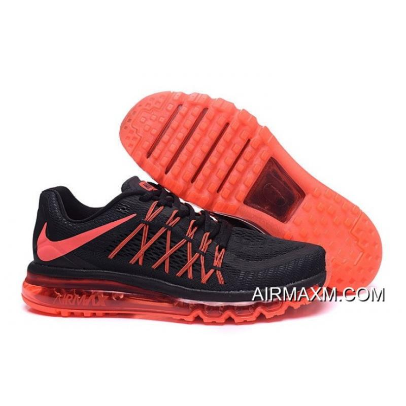 hot sale online f9037 754ac Buy Now Nike AirMax 2015 Orange Black ...
