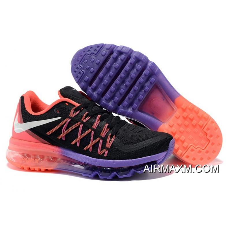 f95e1605ded38 Air Max 2015 Women Black Pink Purple Where To Buy ...