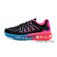 Air Max 2015 Women Blue Pink Black Outlet