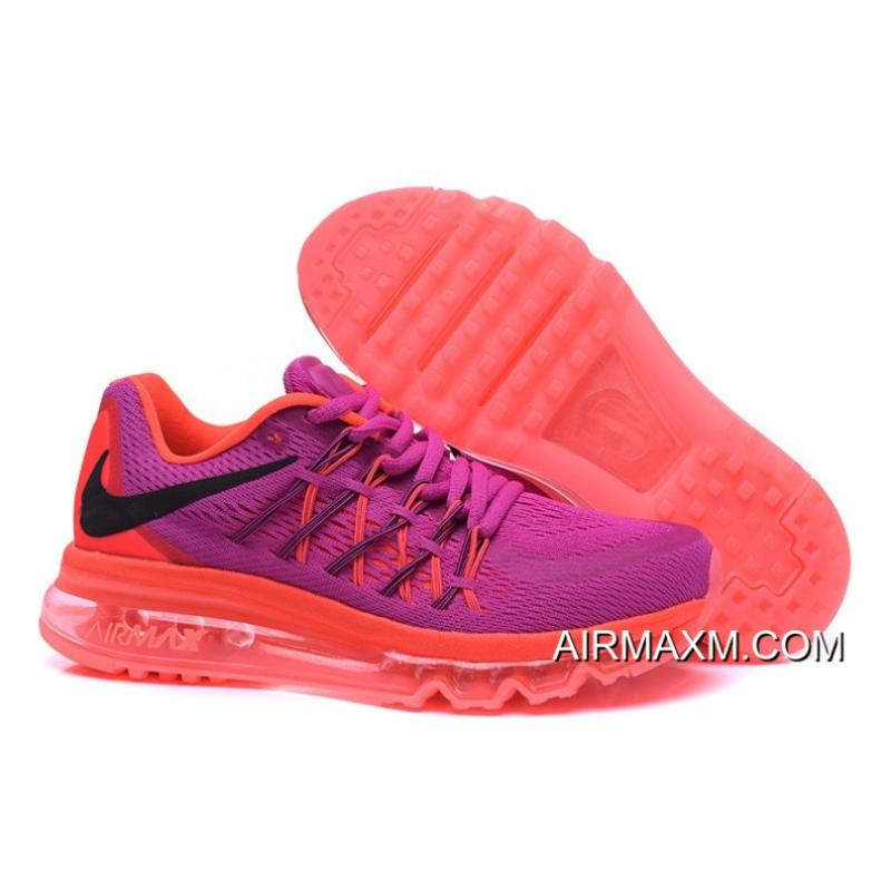 sale retailer cd548 6b85e Air Max 2015 Women Purple Orange Black Outlet ...