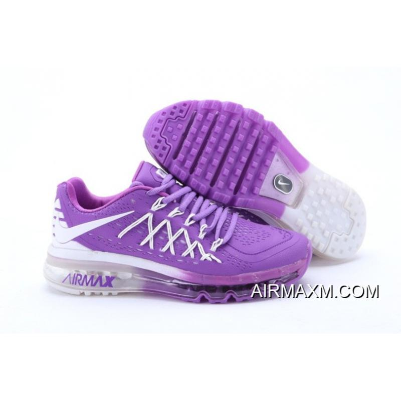official photos 5714e de151 Online Nike Air Max 2015 Women Purple White Running Shoes ...