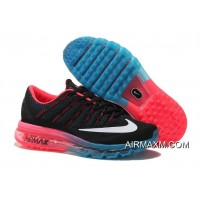 Air Max 2016 Black Blue Red Free Shipping