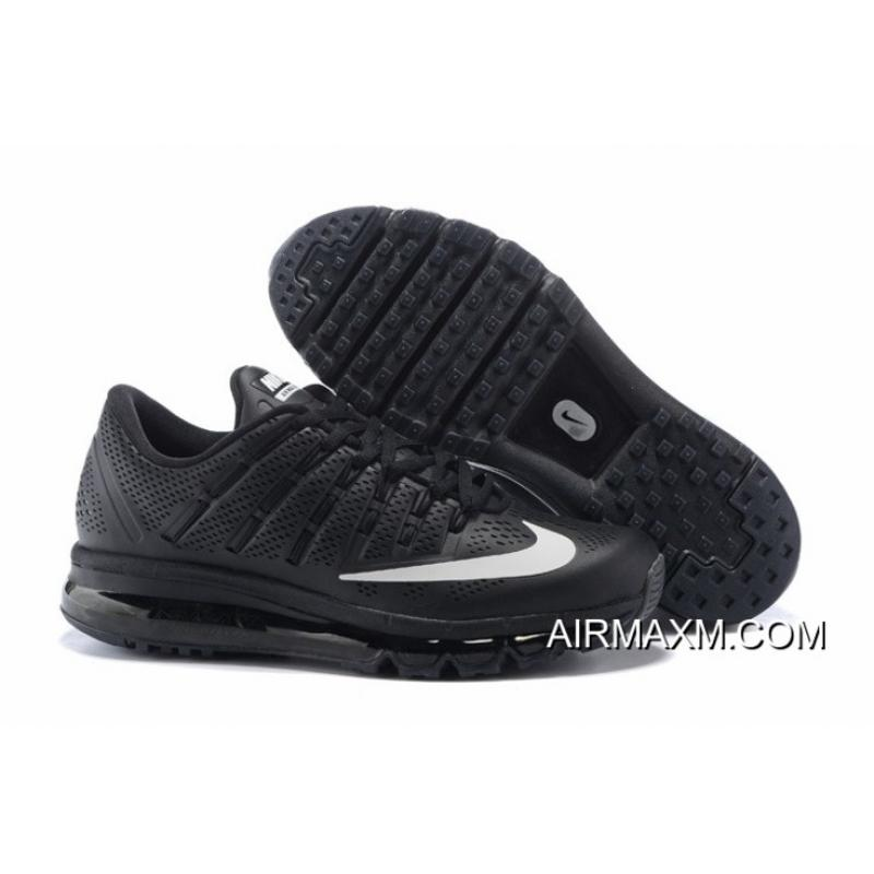 sports shoes 09dd9 4be78 Air Max 2016 Leather All Black White New Release ...