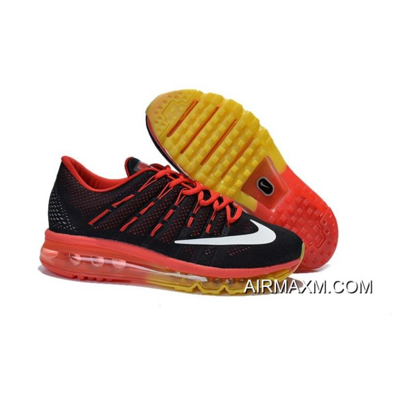 size 40 f3029 8bbc7 Big Deals Air Max 2016 Red Yellow Black White ...