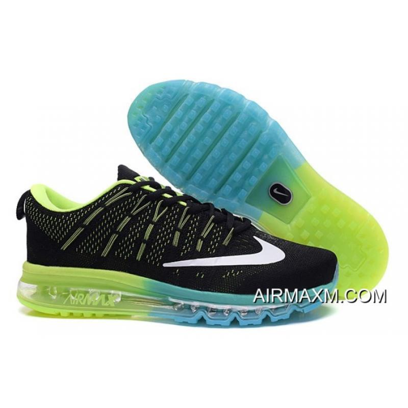 online store 1033a 9c2f7 Online Flyknit Air Max Black Green Blue, Price: $67.23 - Nike air ...