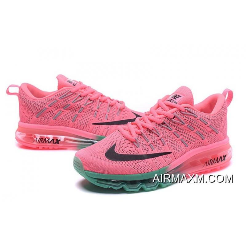 sports shoes 5abbb facbc ... sweden best flyknit air max pink grass green black a7dec 78b4a