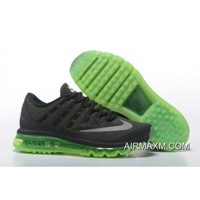 info for 7ad04 fe662 ... authentic latest nike air max 2016 grass green black for men 410ee 3d65d