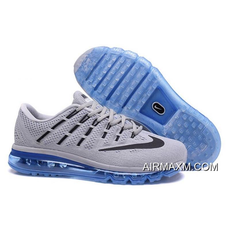 separation shoes bdae4 e9f7a ... closeout top deals nike air max 2016 grey black blue for men 69c1d 04c2f