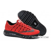 Nike Air Max 2016 Red Black New Release