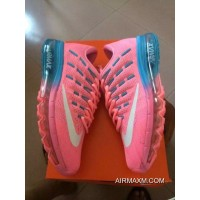 Air Max 2016 Women Pink Blue White New Style