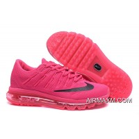 All Pink Black Flyknit Air Max 2016 Women Where To Buy