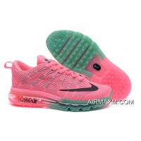 Pink Green Grey Black Flyknit Air Max 2016 Women For Sale