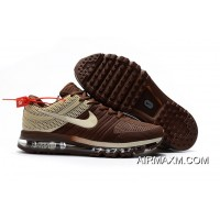 Air Max 2017 Running Shoes Brown Beige Big Discount