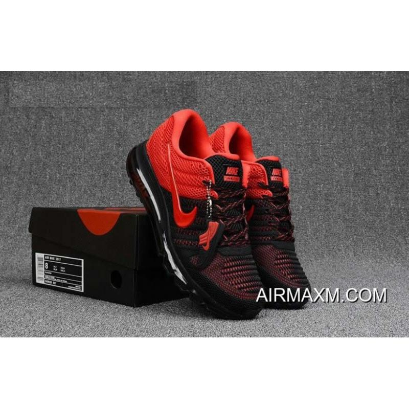 the latest 188fe 5552a ... New Year Deals Nike Ai RMax 2017 Men Red Black