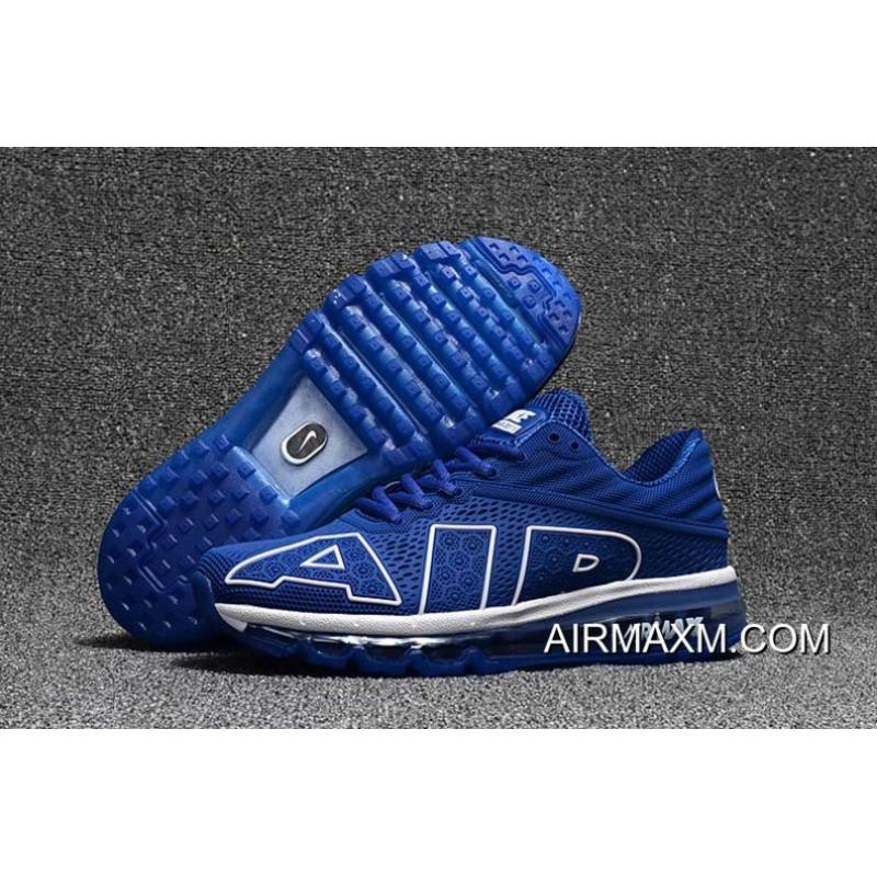 Nike Air Max Flair 2017 Blue White Super Deals ... 61c353599
