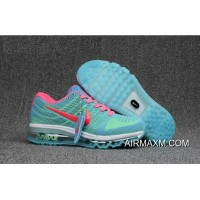 Nike Air Max 2017 Women Blue Pink White Outlet
