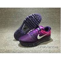 Nike Air Max 2017 Women Running Shoes Purple Pink Black New Style