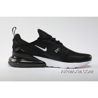 Nike Air Max 270 Flyknit Black White New Release
