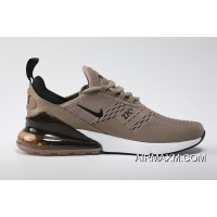 Where To Buy Nike Air Max 270 Flyknit Brown White Black